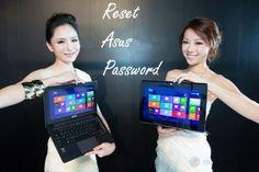 How to reset Asus laptop admin password?