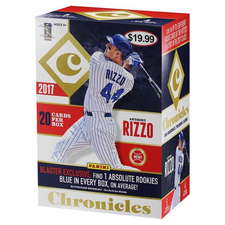 2017 MLB Panini Chronicle Baseball Trading Card Full Box