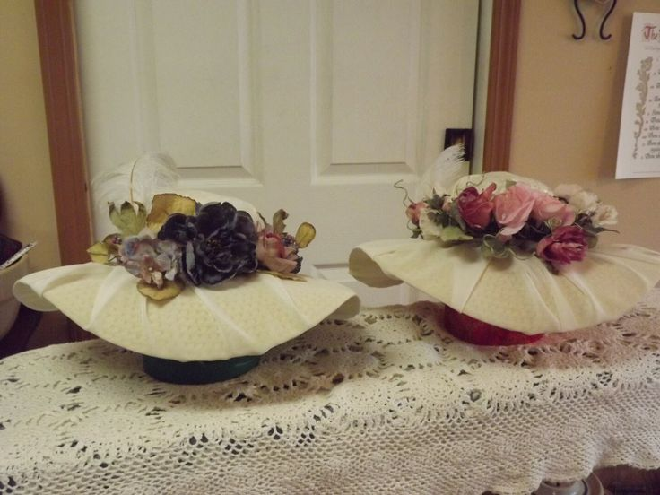 tea party hats for women | In His Hands Hollow: Victorian Tea Party Hats