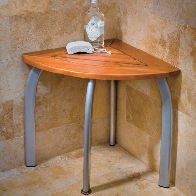 Teak Shower Seat For Bathrooms Dream Home Pinterest Cas Teak And Shower Stools