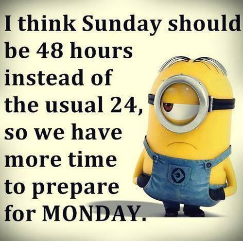 Image result for another day between sunday and monday