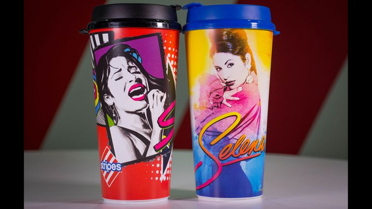 Commemorative Selena cups go on sale in March at Stripes gas stations