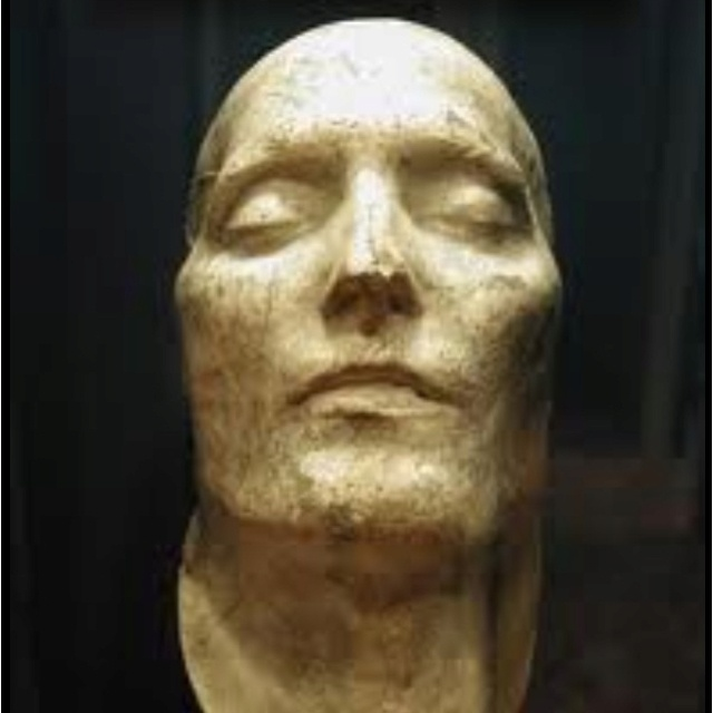 Napoleon Bonapartes death mask