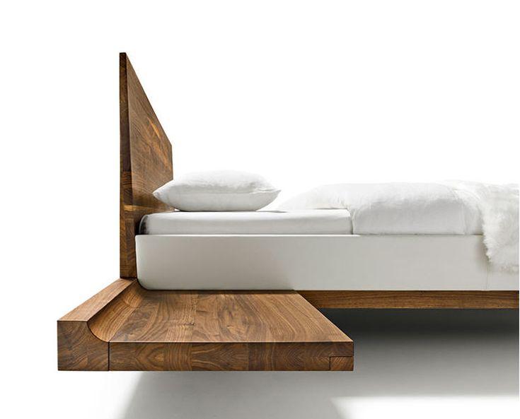 wood bedframe - Low Wood Bed Frame