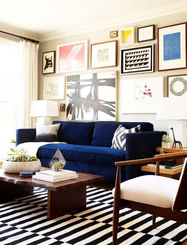 5 Times IKEA Looked Deceptively Elegant. Gallery Wall ArtGallery  WallsEclectic Living RoomLiving ...