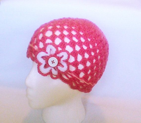 Hey, I found this really awesome Etsy listing at https://www.etsy.com/listing/187588322/women-flower-hat-pink-crochet-hat-women