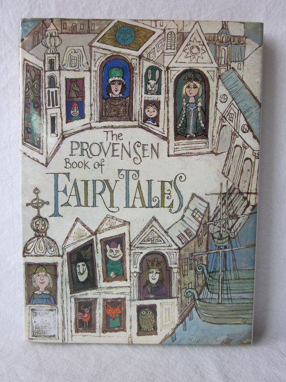 The Provensen Book of Fairy Tales by NostalgiaMama on Etsy, $10.00