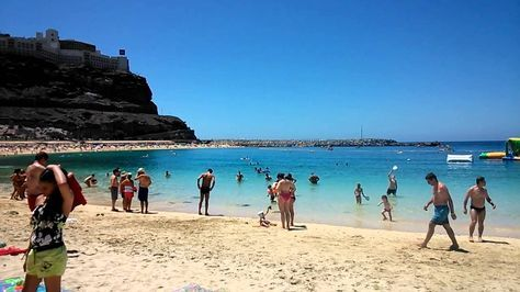 Gran Canaria, Amadores beach