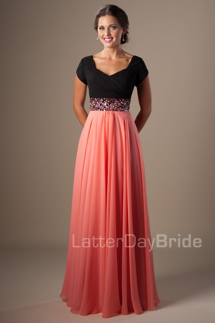 25  best ideas about Modest prom dresses on Pinterest | Modest ...