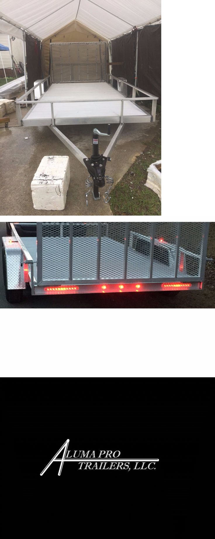 heavy equipment: New 64 X 12 Aluminum Trailer W/Torsion Axle BUY IT NOW ONLY: $2650.0