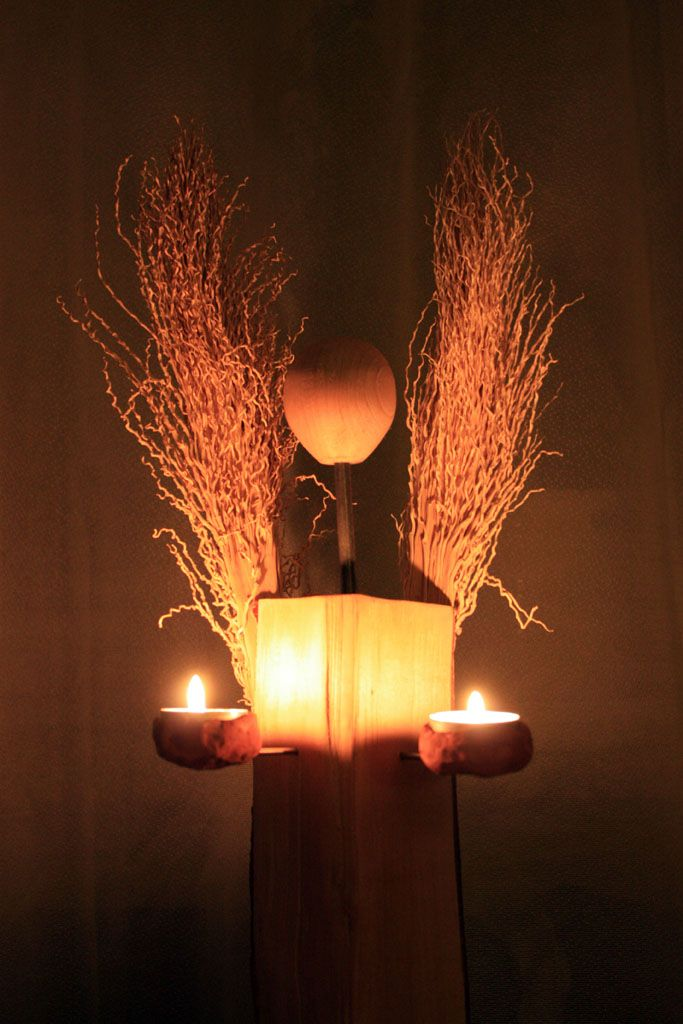 Anioł świecznik