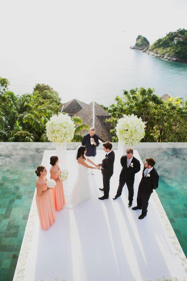 wedding coordinators in orange county ca%0A IAMFLOWER  Florists  Wedding planner by Luxury Events Phuket l Photo by  Love u