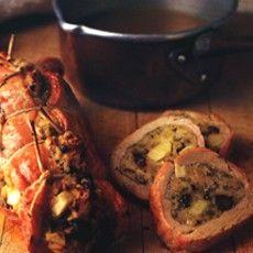 Pork with Pickled Walnut Stuffing - Delia Smith