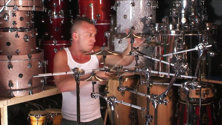 Stephen Perkins Splash Cymbal Solo