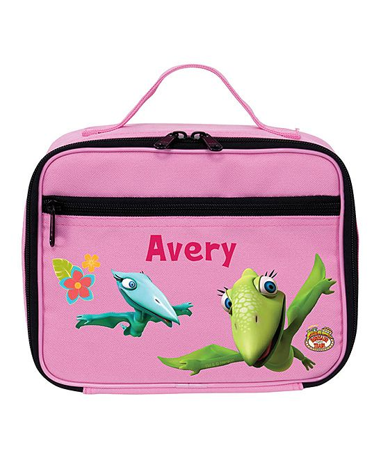 Pink Tiny & Shiny Personalized Lunch Bag