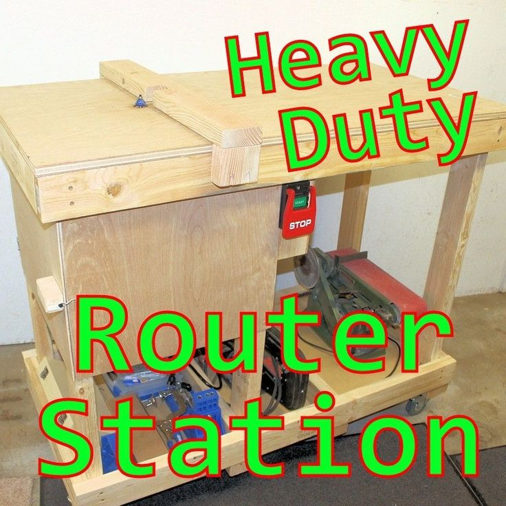 The 25 best homemade router table ideas on pinterest diy building a custom heavy duty router table station diy i decided to upgrade my homemade router keyboard keysfo Images
