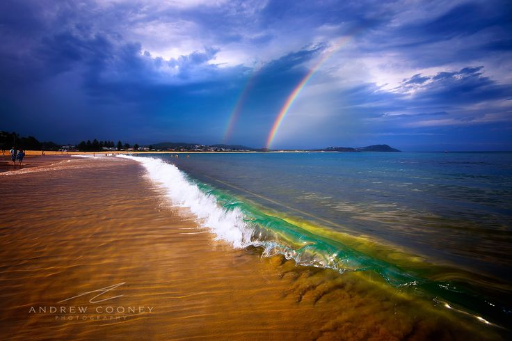 Rainbow Wave by Andrew Cooney on 500px