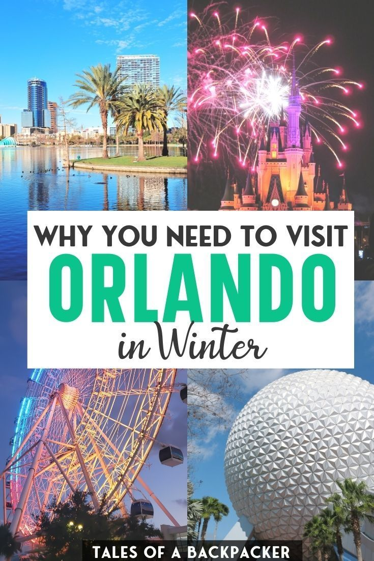 The Ultimate Guide To Orlando In Winter Winter Travel Destinations Best Winter Vacations Florida Travel