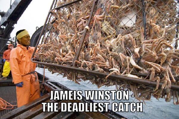 James Winston Crab Legs Memes 6