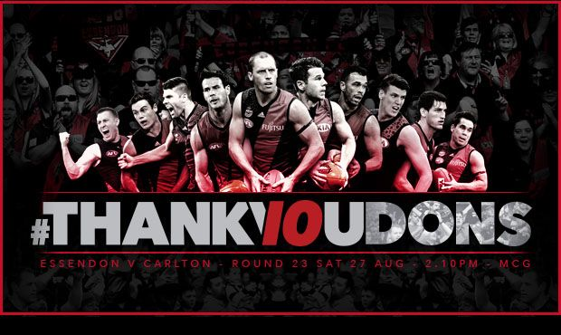 Official AFL Website of the Essendon Football Club