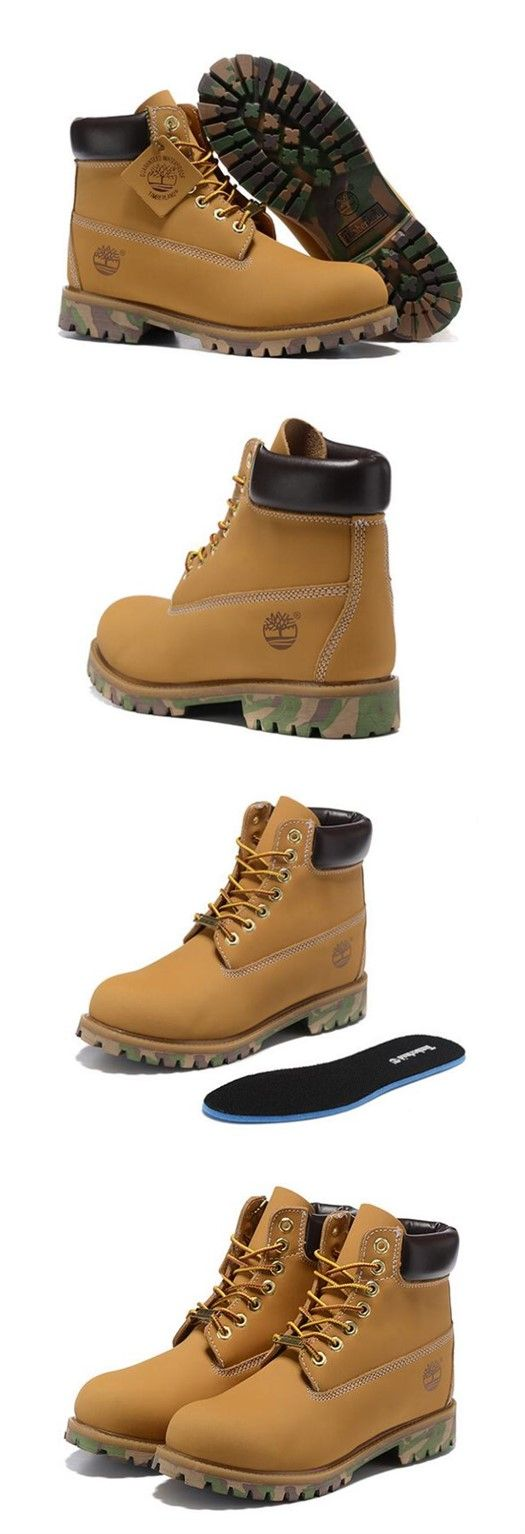 Camo Timberland Boots 6 inch for Men Wheat and Black new sale on yellowtimberlandboots.com,Fashion yellow Timberland Men Boots,New timberland classics Boots 2016,timberland style boots,customized timberland boots