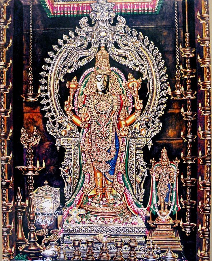 Sankaranarayana, art by Silpi