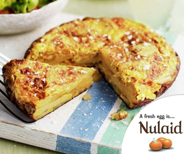This classic Spanish dish is very versatile and quick to whip up. For the full recipe, click here:http://ablog.link/4hp. #Nulaid