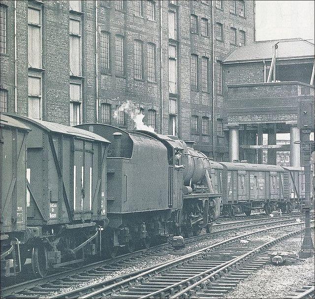 Huddersfield: Goods Warehouse Hoist. 1960s.