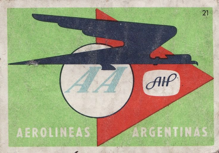 Vintage Aerolinas Argentinas graphic
