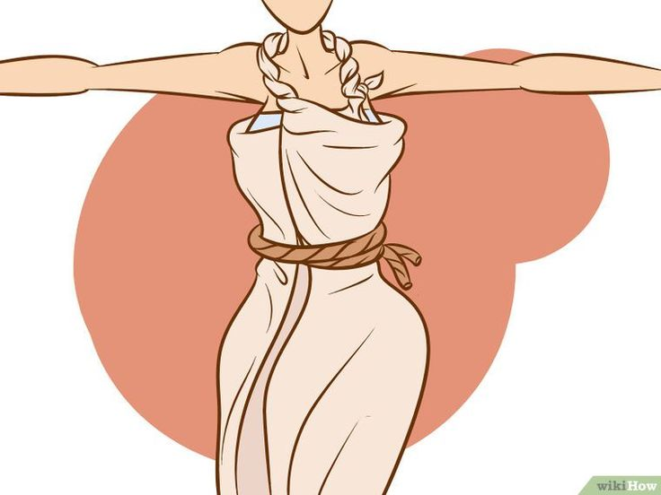 5 Ways to Wrap a Toga - wikiHow