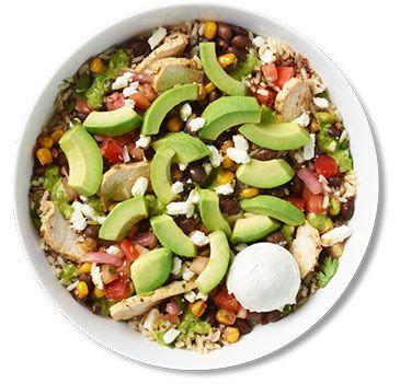 Baja Warm Grain Bowl With Chicken Grain Bowl Recipe Healthy Recipies Lunch Bowl