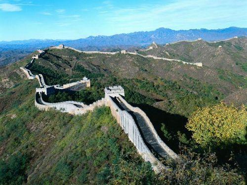 Chinese muur- 1 van de 7 wereldwonderen