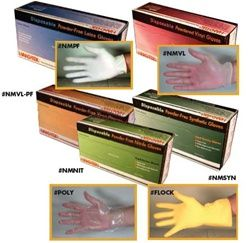 Latex gloves protect very well and are flexible and fit good. The only drawback to latex is that many people are allergic to them. Latex gloves are ideal for foodservice use, housekeeping, industrial clean rooms, and assembly areas. They provide a snug comfortable fit, improving dexterity and touch sensitivity, and are recommended for delicate work. http://www.roundeyesupply.com/Disposable-Latex-Gloves-s/155.htm
