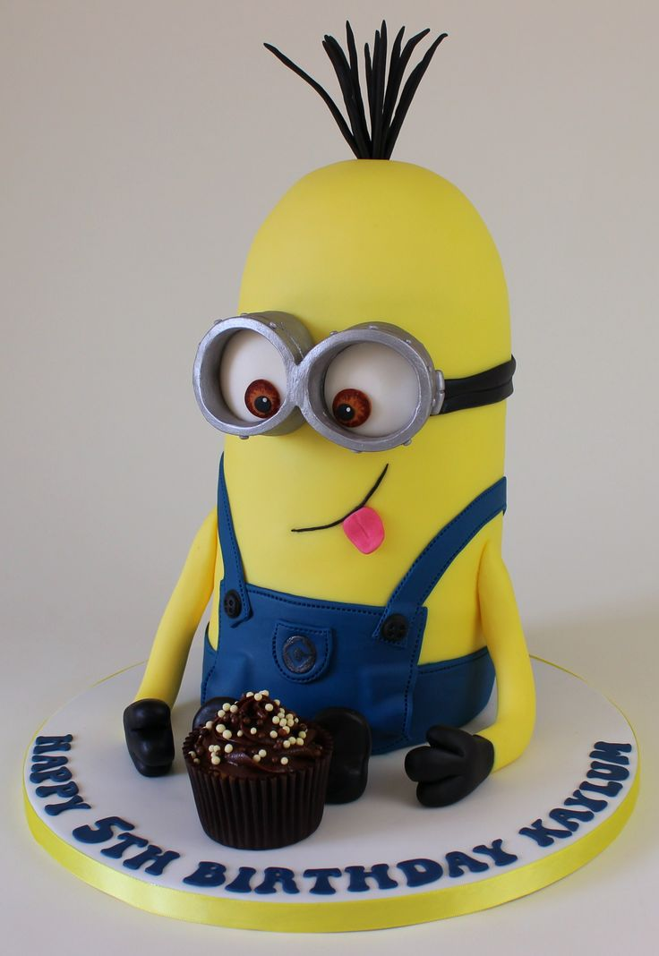 Tall Minion Cake Kevin I Believe Minion Cakes