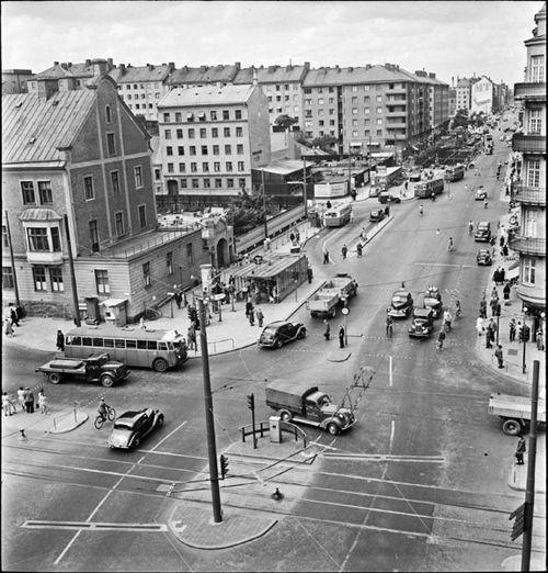 1949-a-Stockholm-Södermalm-Ringvägen-Götgatan-Skanstull-Rektangeln