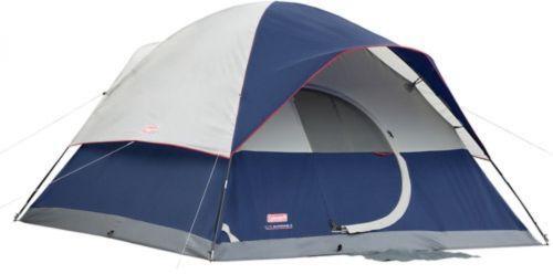 Coleman Elite Sundome 6-Person Tent With LED Light 12' X 10'