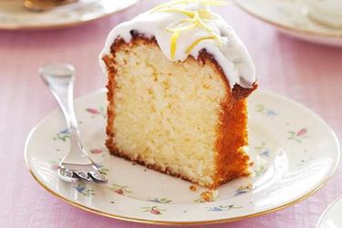Lemon yoghurt cake with lemon drizzle icing recipe, NZ Woman's Weekly – visit Food Hub for New Zealand recipes using local ingredients – foodhub.co.nz