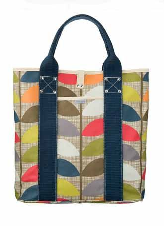 If i could afford this orla kiely bag Id be happy!