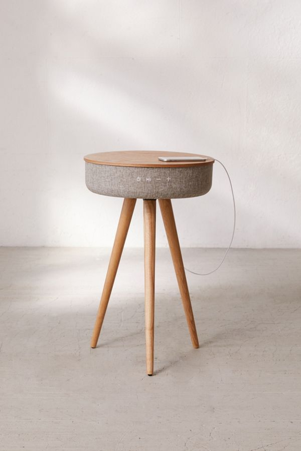 victrola bluetooth speaker table in 2019 end tables bluetooth rh pinterest com