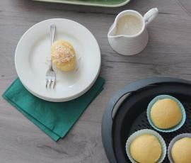 Recipe Lemon Cupcakes with Citrus Syrup by Thermomix in Australia - Recipe of category Desserts & sweets