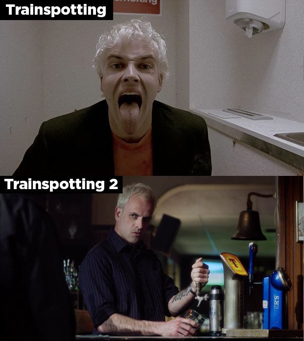 "Sick Boy (Jonny Lee Miller) | Here's How Much The ""Trainspotting"" Characters Have Changed In 20 Years"