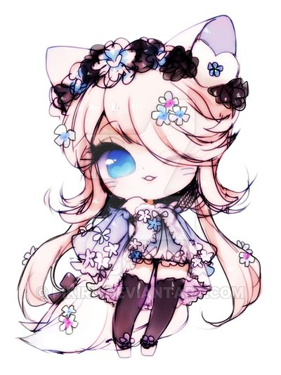 Pikiru has been creating her own chibi art on deviant art since middle school in South Korea.Now in college, she has come up with a unique design for her