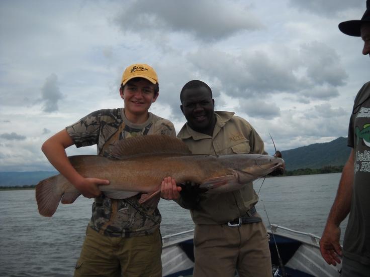 Vundu fishing on the Lower Zambezi