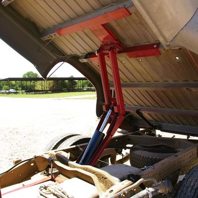 Pierce Arrow Pickup Truck Dump Hoist Kit — 4000-Lb. Capacity, Chevy/GMC Long Bed 1988-99
