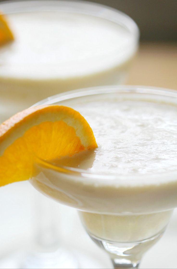 4-Ingredient Orange Julius Cocktail (Gluten-Free, Vegan)   – foods
