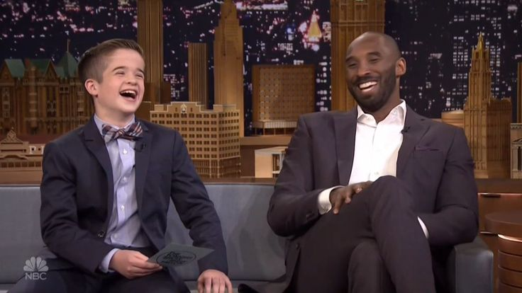 Kobe Bryant's Hard-Hitting Interview by Kid Reporter on 'Tonight ...