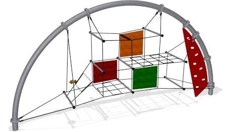 - COR8822 - Climbing Equipment and Spacenets - Playground Equipment - KOMPAN