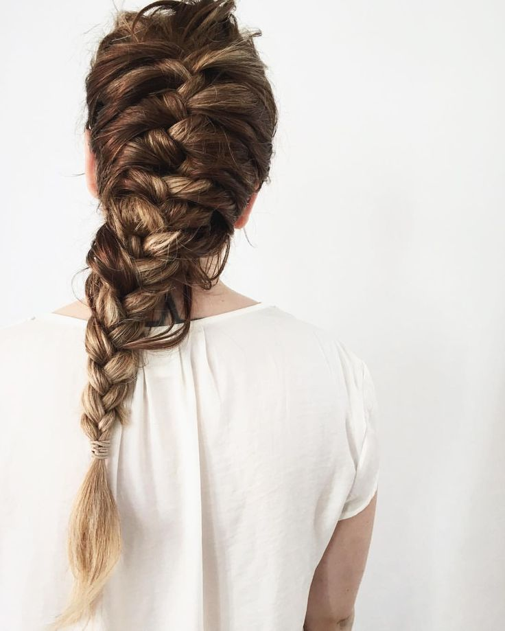 braids long braids messy braids fishtail braids braids pinterest ...