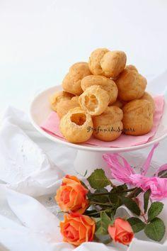 Profumi&Sapori: Bignè senza glutine con spuma di ricotta, basilico e olive taggiasche