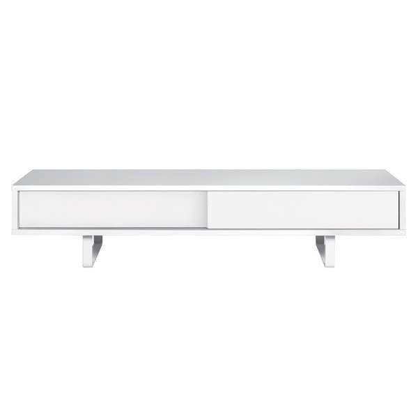SLIDE, TV St�nder oder niedrigen Sideboard, eine abgerundete Metall-Fu�, Schiebet�ren, f�r eine moderne Raum - gestaltet von NUNO HENRIQUES